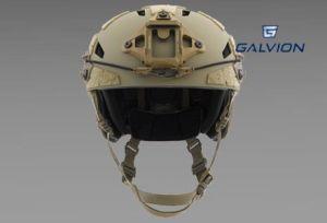 Kask niebalistyczny Caiman Bump kolor Tan499 firmy Galvion (dawne Revision)