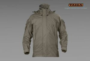 Nieprzemakalna kurtka RAC firmy TAIGA - kamuflaż TCIP