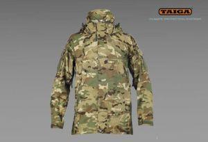 Nieprzemakalna kurtka RA firmy TAIGA - kamuflaż TMTP