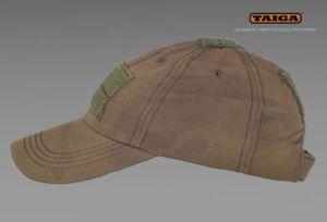 Wojskowa czapka z daszkiem NR firmy TAIGA - kamuflaż TCIP