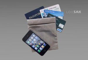 Opakowanie, etui zabezpieczające urządzenia elektroniczne SHIELDSAK firmy Loksak