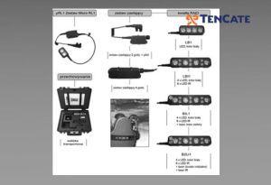 Oświetlenie Raid Lighting do tarcz balistycznych Tencate