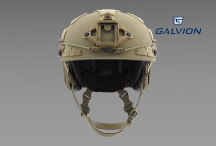 Hełm balistyczny Caiman Ballistic kolor Tan499 firmy Galvion (dawne Revision)