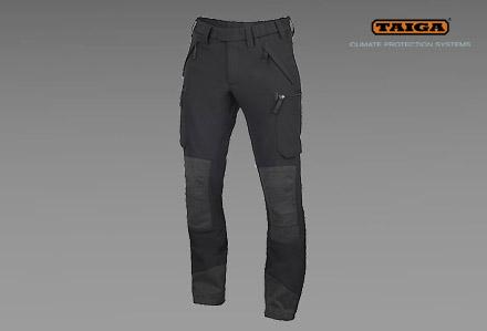 MADISON spodnie-softshell TAIGA czarne
