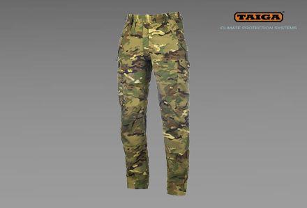Spodnie polowe NR firmy TAIGA w kamuflażu TMTP