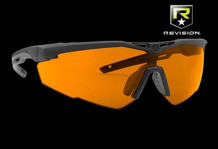 Okulary balistyczne StingerHawk ze szkłami przeciwlaserowymi GI-19 firmy REVISION LazrBloc