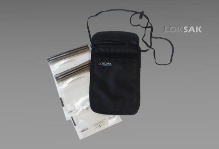 Etui, torba na opakowania strunowe SPLASHSAK firmy Loksak