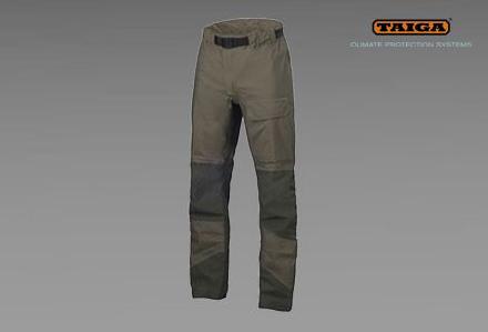Nieprzemakalne spodnie RAC firmy TAIGA - kamuflaż TCIP