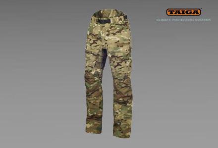 Nieprzemakalne spodnie RAMPART RA firmy TAIGA - kamuflaż TMTP