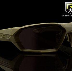 SHADOWSTRIKE-okulary balistyczne-oprawka oliwkowa-REVISION