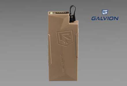 Urządzenie zasilajace SoloPack firmy Galvion (dawne Revision)