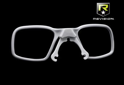 Wkładki na szkła korekcyjne RX Carrier firmy Revision
