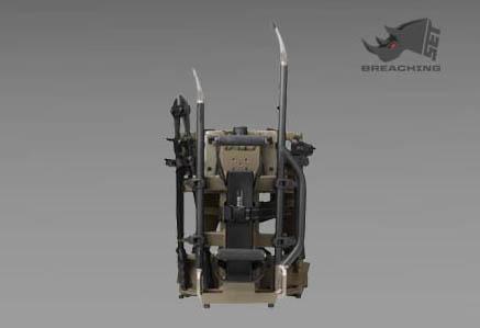 Zestaw narzędzi wyważeniowych Heavy Breaching Kit firmy SET