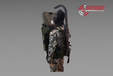 System wspomagający tarcze balistyczne (żurawik) firmy AAS