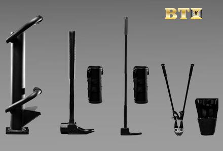 Zestaw narzędzi wyważeniowych, breacherskich Enforcer firmy BTI