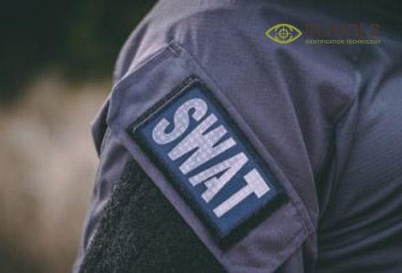 naszywka identyfikacyjna garnizonowa SWAT - gen. I