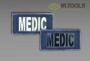 IR.Tools MEDIC-naszywka dwustronna IR+ fotoluminescencja